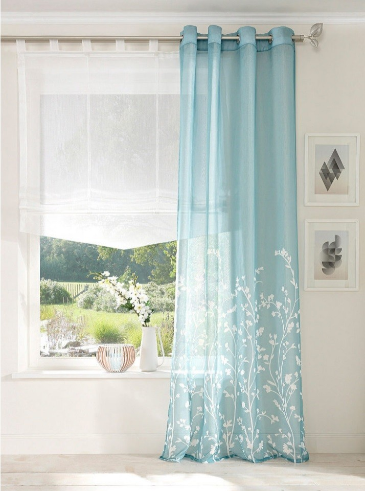 Botanical Curtains Curtain Panel Curtain