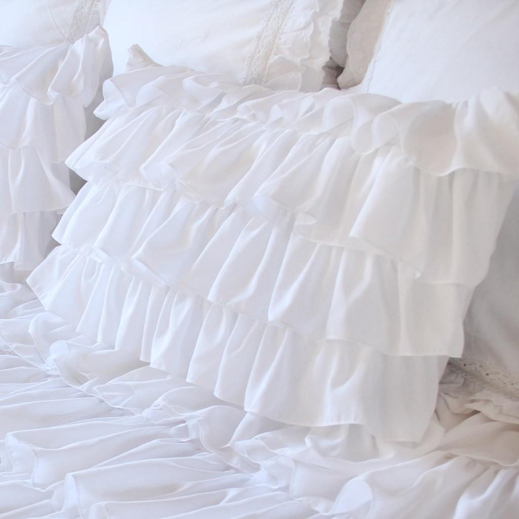 ruffle pillow sham online
