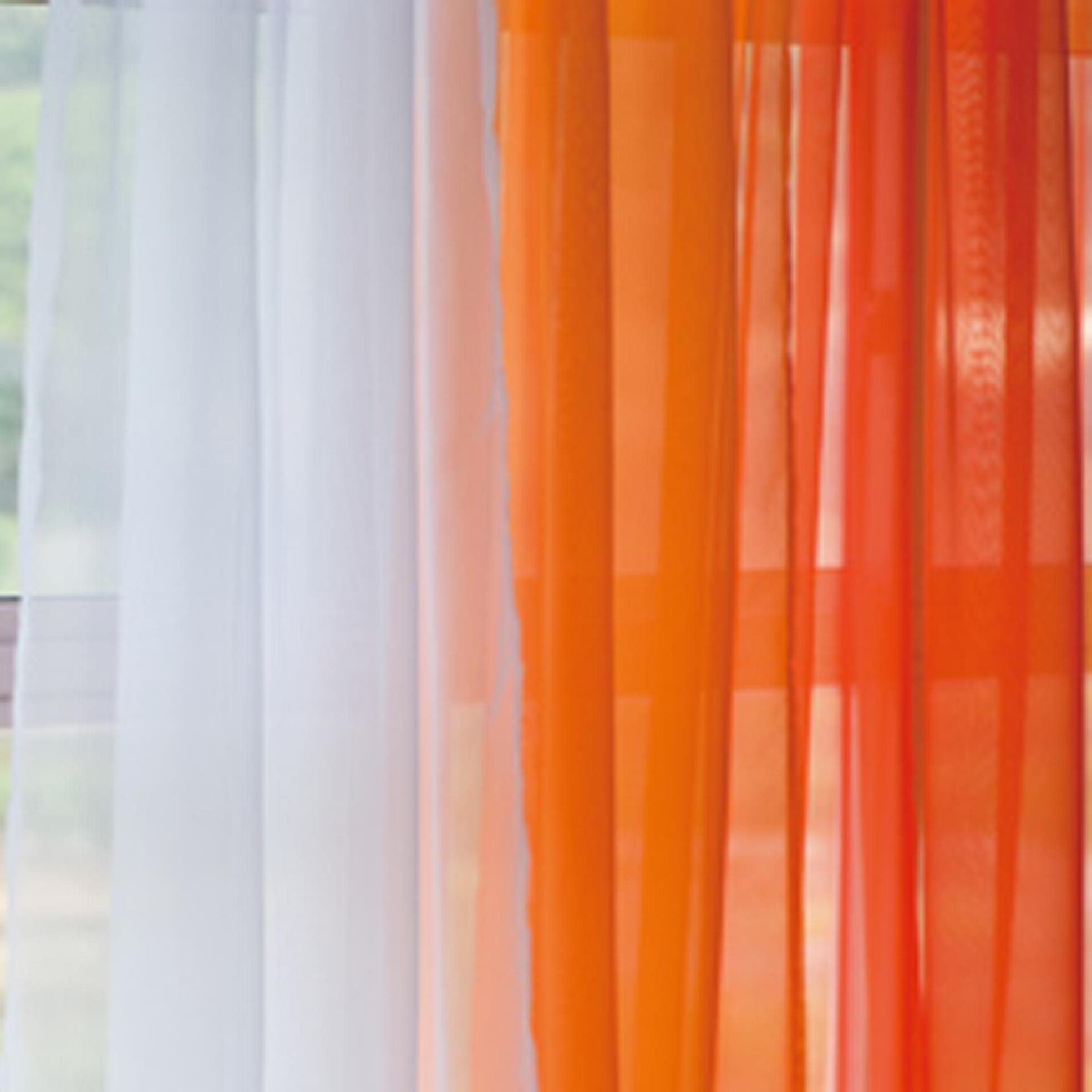Voile Silk Sheer Curtains