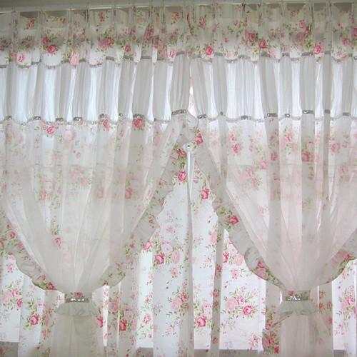 Shabby Chic Curtain