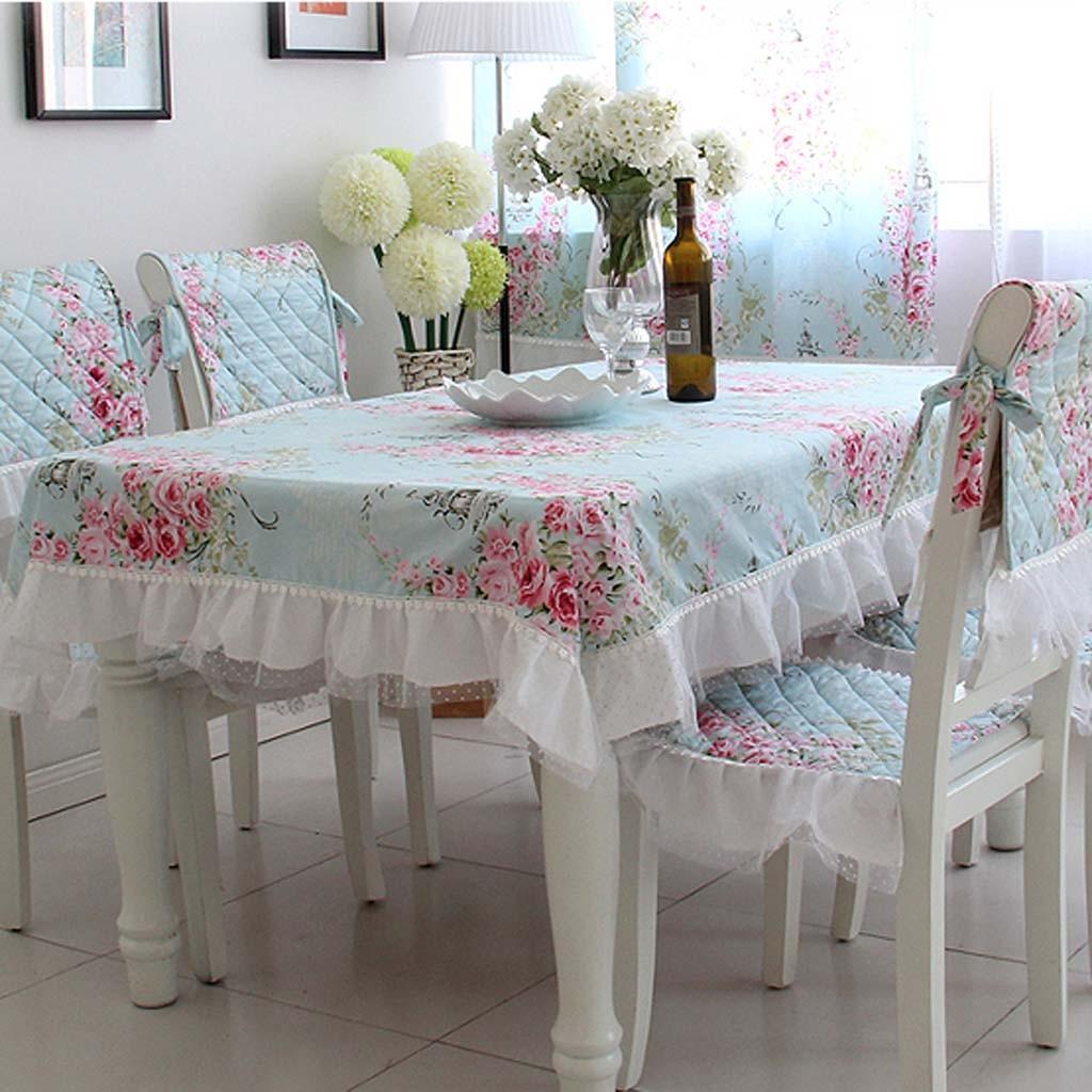 Print Chair Accent Blue