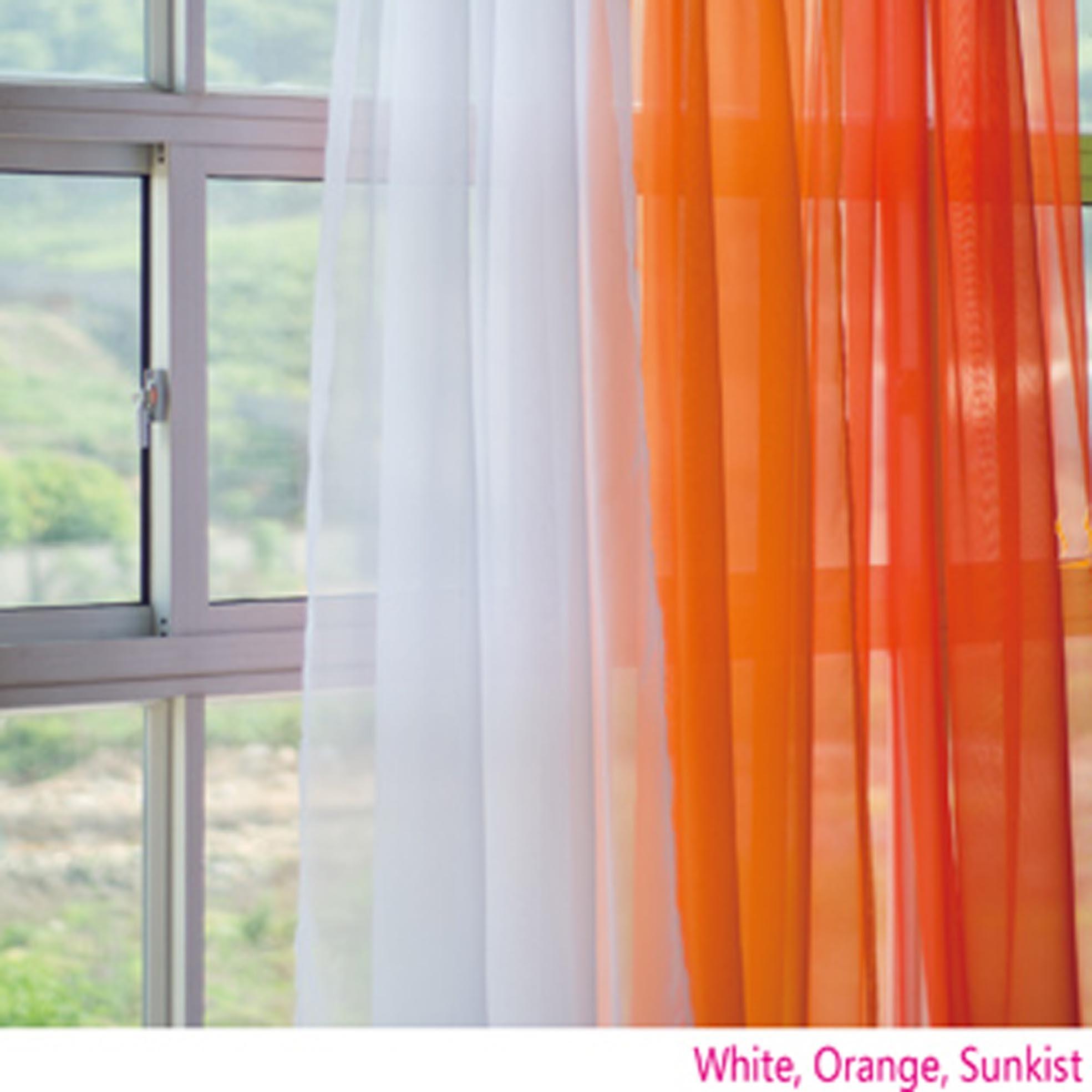 orange gradient panel set