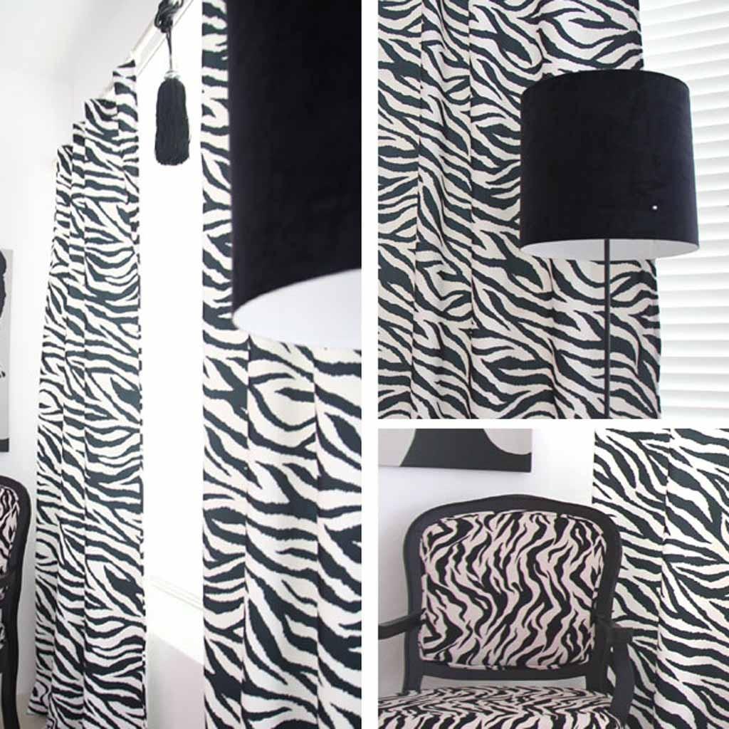 Zebra Curtain