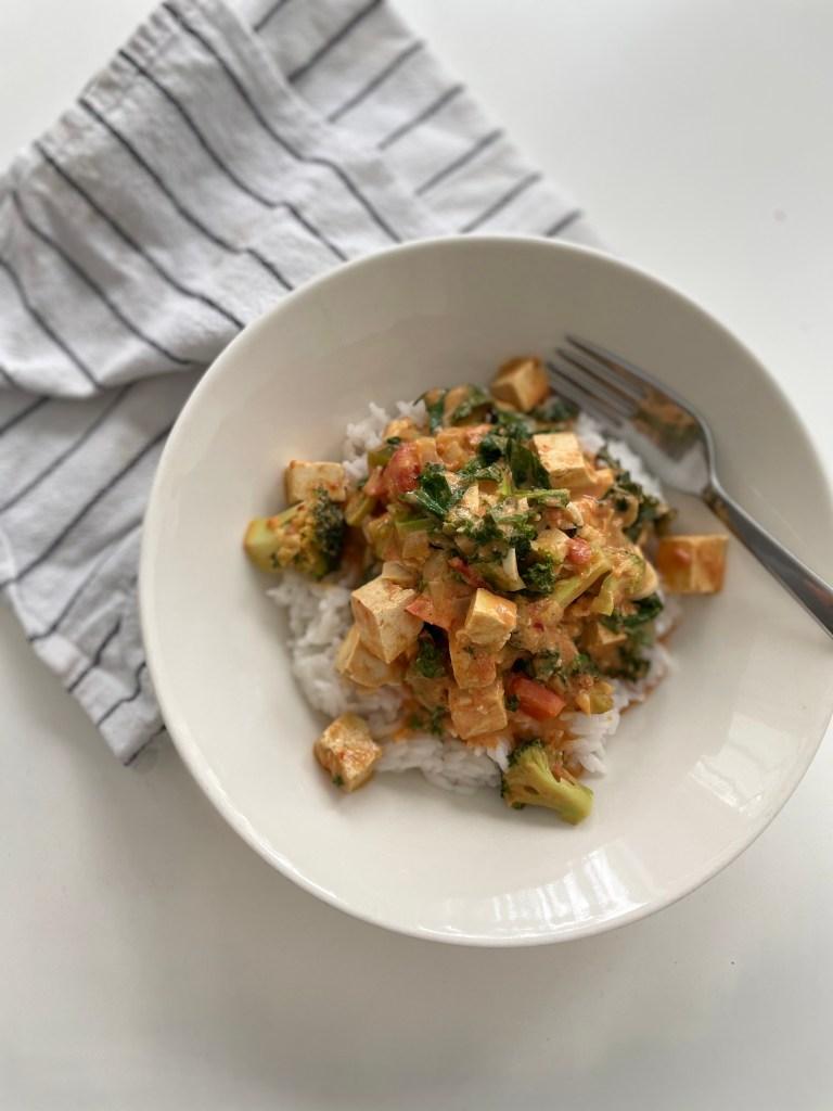 nopea kasvis curry
