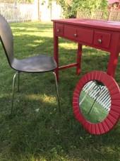 Spruced up a chair I already had!
