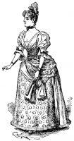 1888 Antique Dress