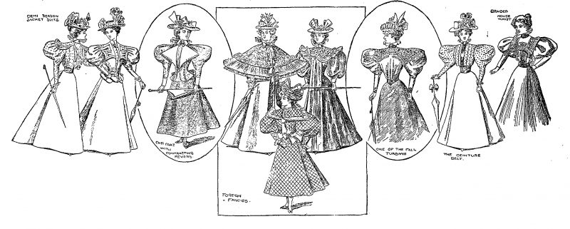 Lovely Ladies from 1896