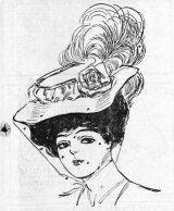 1906 Ladies Hat