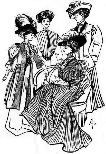 1908 Antique Dress