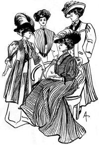 Lovely Ladies from 1908