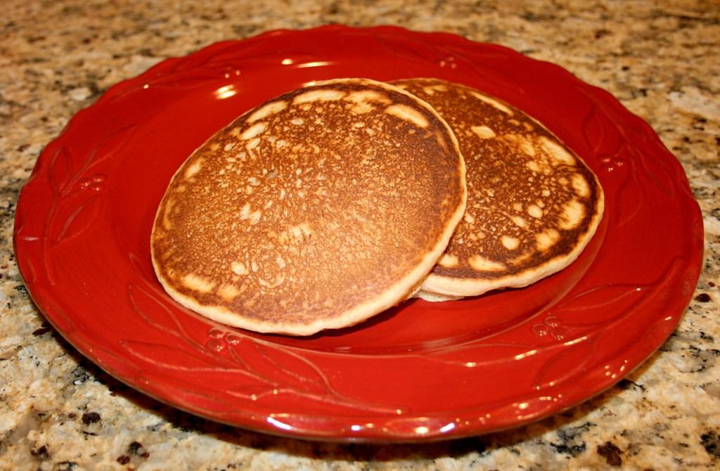 100% Whole Wheat Pancakes