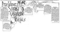The Baltimore Sun 1911 Vegetable Recipe Contest Winners