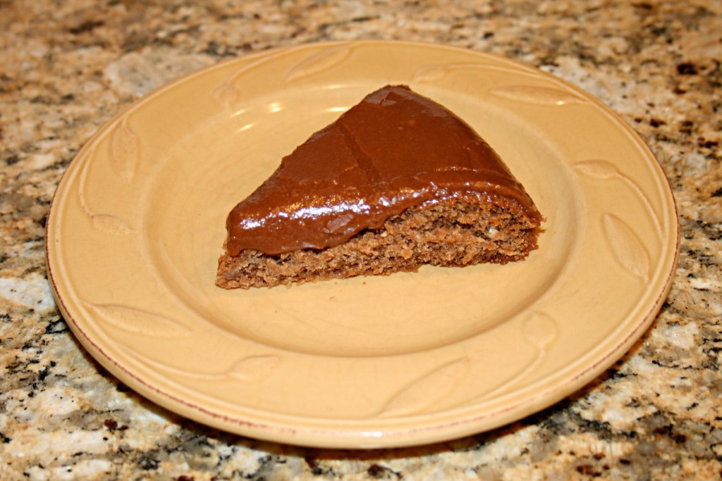 Eggless Chocolate Cake and Frosting
