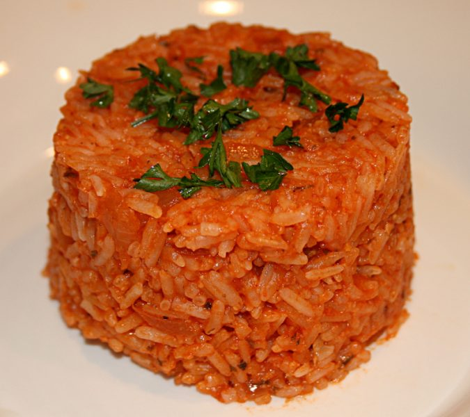 Mrs. Dornberger's Italian Rice