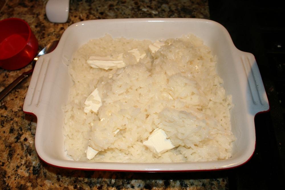Cream Cheese Rice Layered
