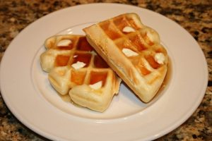 Mrs. Stech's Homemade Waffles
