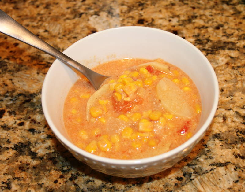 Mrs. Rockwood's Corn Chowder