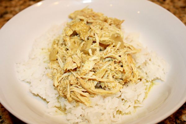 Mrs. Lederer's Chicken Curry