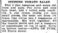 Stuffed Tomato Salad