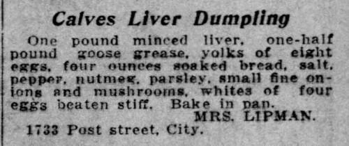 liver dumpling