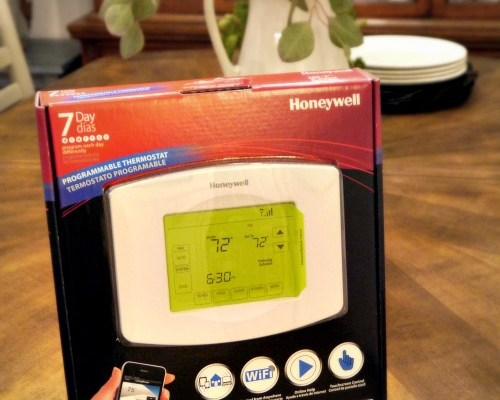 Diagram Honeywell Wifi Programmable Thermostat Giveaway 149