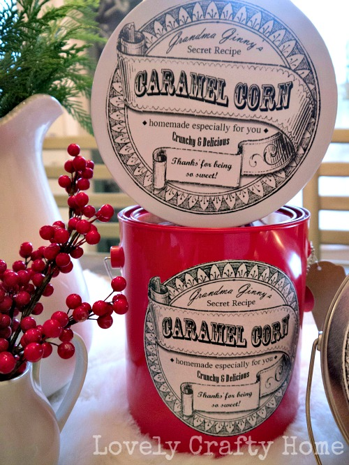 » Free Printable: Old Fashioned Label
