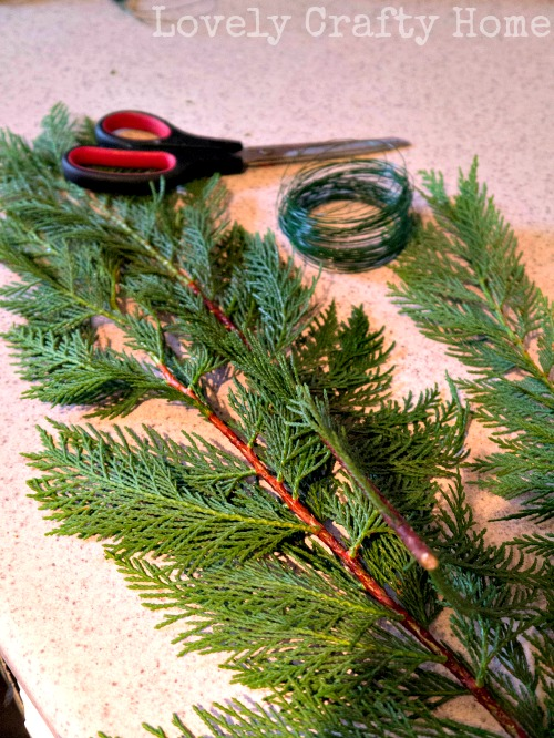 diy garland supplies