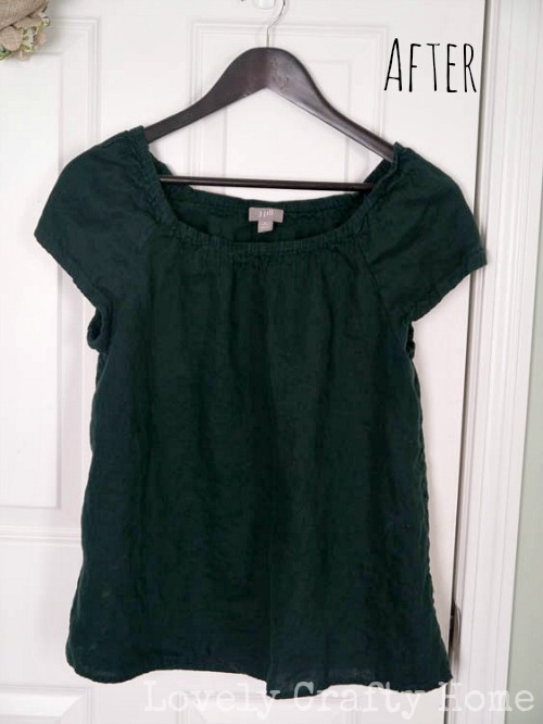 Refreshing Clothes with Dylon Fabric Dye