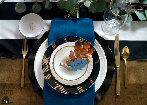 copper-and-gold-table-setting