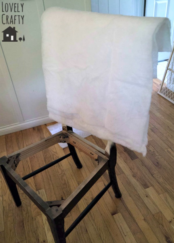 Upholstering a Ladder Back Chair