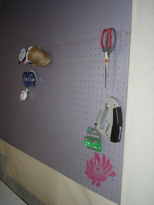 Accessorize Pegboard