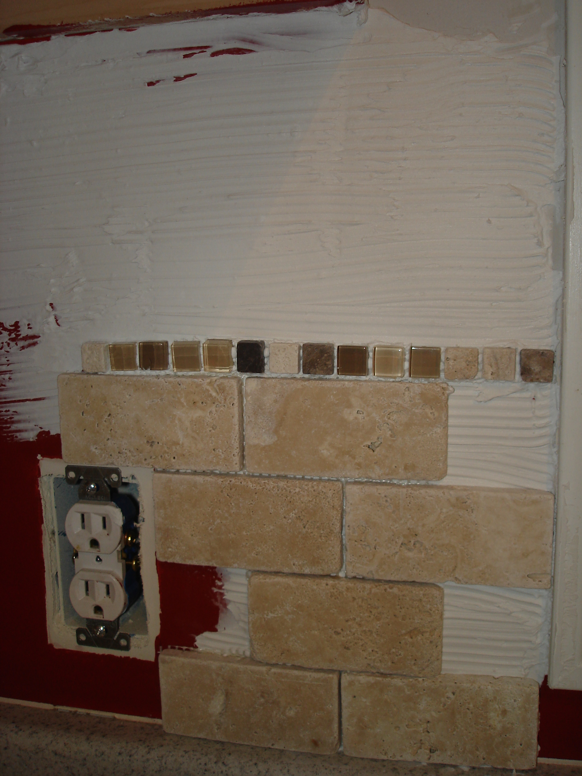 granite backsplash removal tile backsplash up your granite - Removing Tile Backsplash