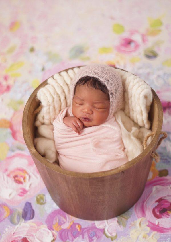 North Dallas Newborn Photographer   Baby Elissa