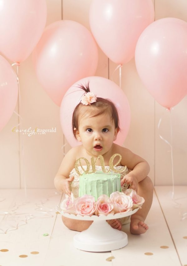 Frisco Cake Smash Photographer | Cara's First Birthday Portraits