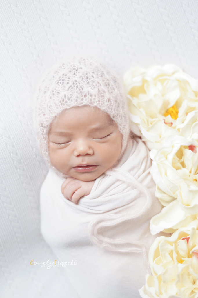 Swaddled Baby Girl, Frisco Newborn Photographer