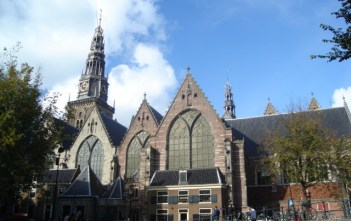 Old Church in Amsterdam