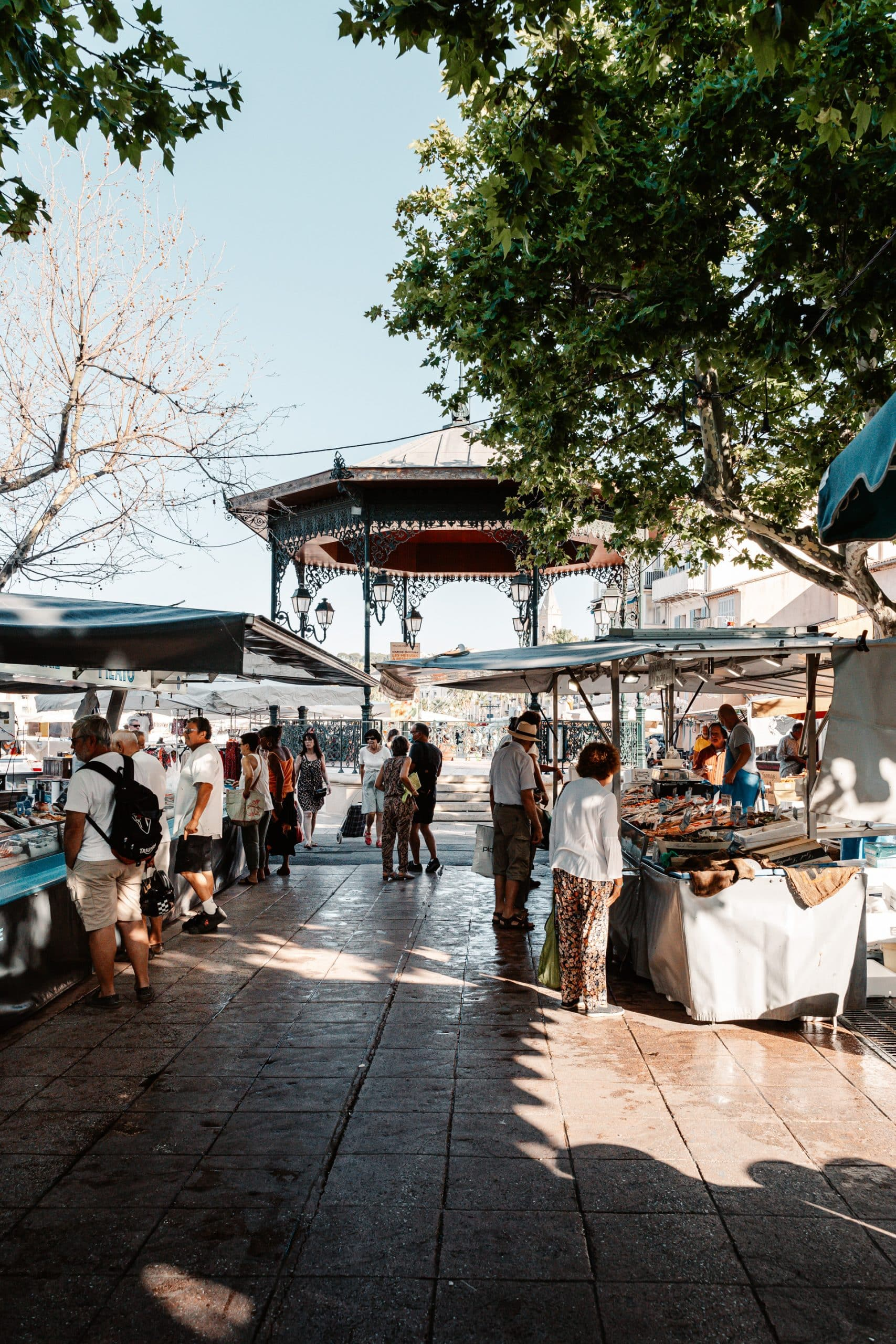 Marché de Sanary-sur-Mer