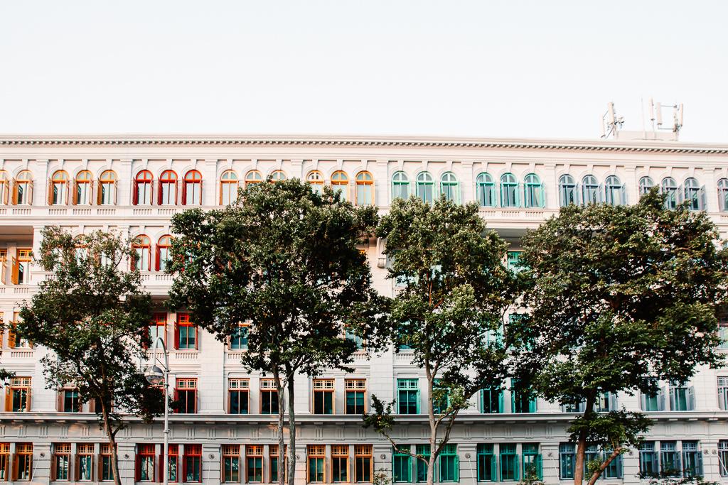 façade multicolore singapour