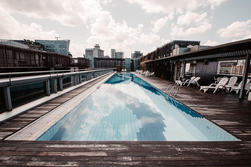 Piscine hotel Chancelor Singapour