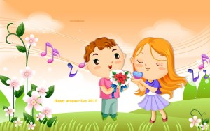 happy propose dy cute image 2015