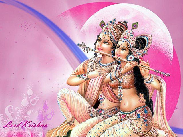 krishna radha lovely beautiful photo 2015