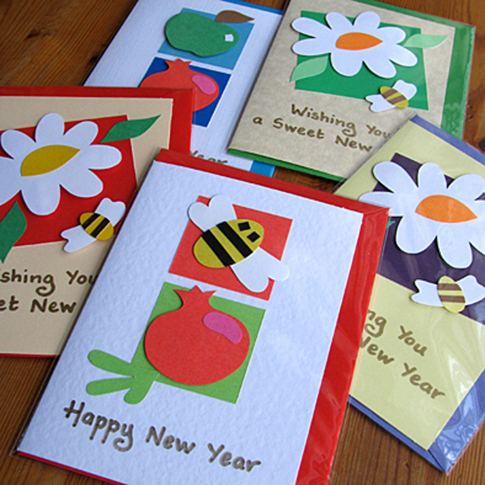 easy handmade new year cards for kids simple cards kaise