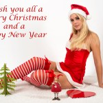 Merry Christmas Hot Girls Images 2015 Latest 25th Dec Cute Baby Santa Pics in HD