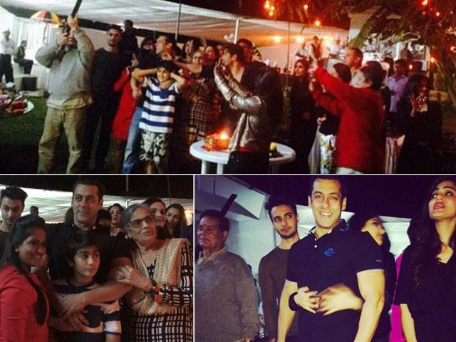 salman-khan birthday party latest images photos