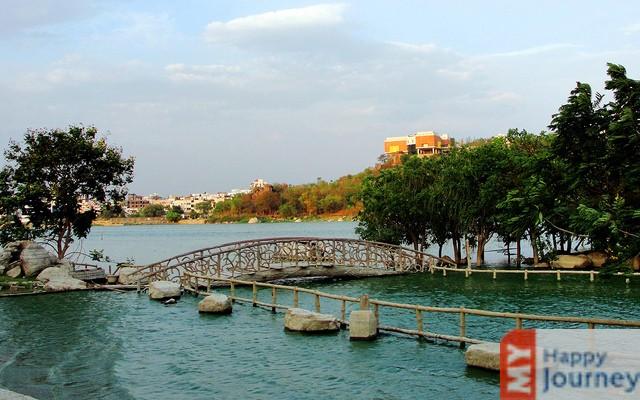 Durgam Cheruvu (Secret Lake) of hyderabad