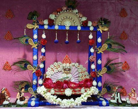 Bal Gopal Jhula Decoration Ideas Kanha Ji palna sajane ka tarika