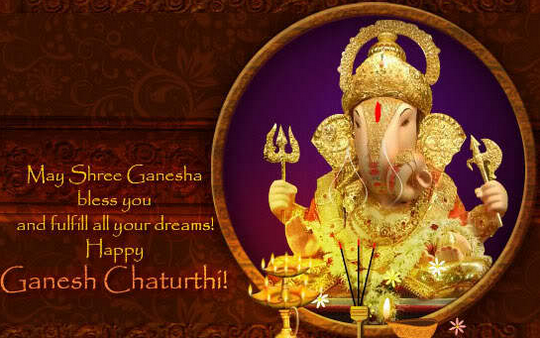Ganesh-Chaturthi-Whatsapp-DP with wishes