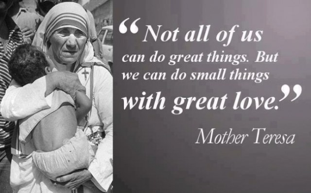 Mother teresa quotes in English with Images