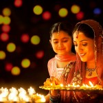Home Decoration Ideas for Diwali Decoration with Hand Made Kandil/Diyas