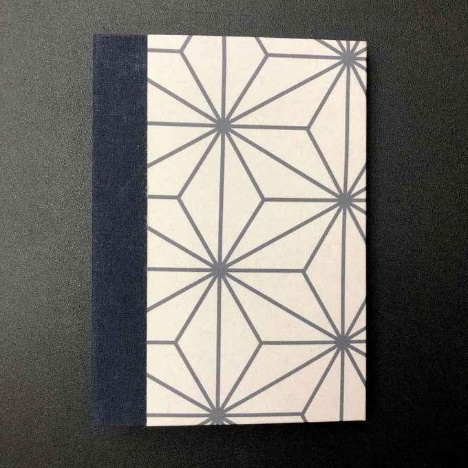 Caderno A5 Kraft Inc. - Costura Losango